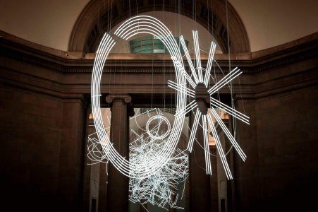 "The ""Forms in Space... by light"" in Tate Britain."