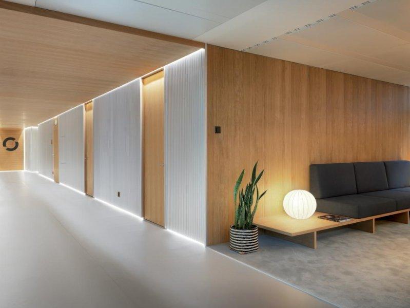 Ein Wartezimmer in der Entourage Schönheitsklinik. Lausanne.