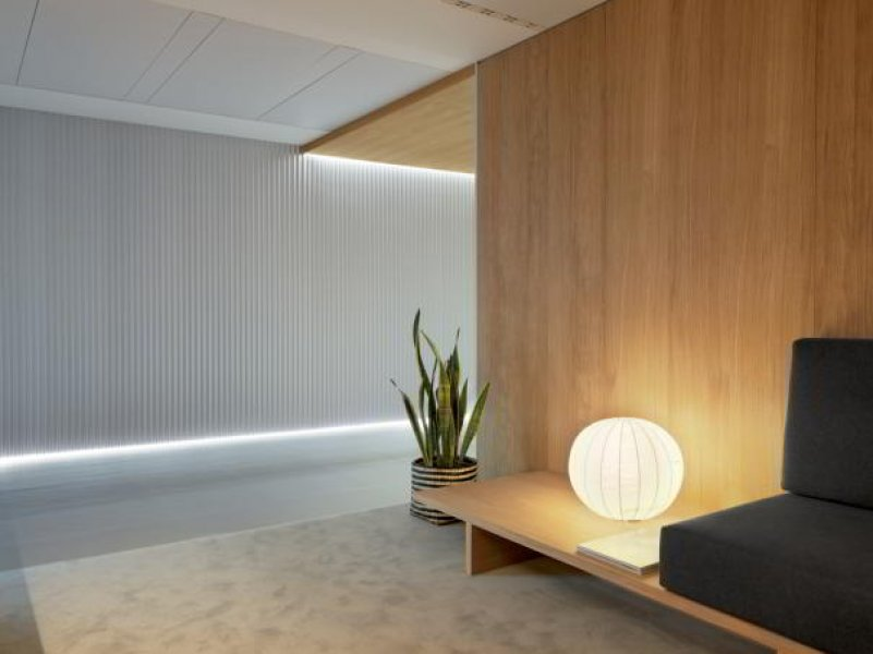 A waiting room in the Entourage beauty clinic Lausanne.