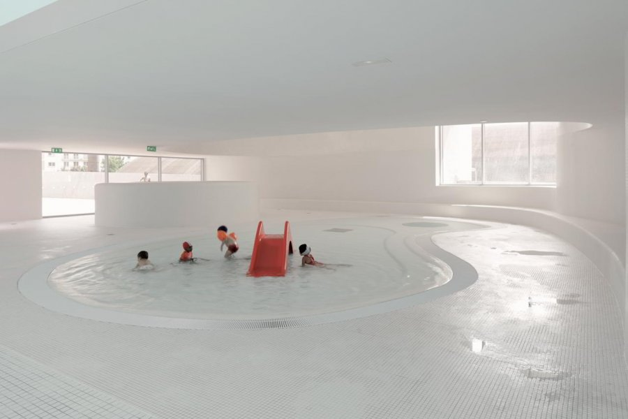 A children pool in Bagneux.