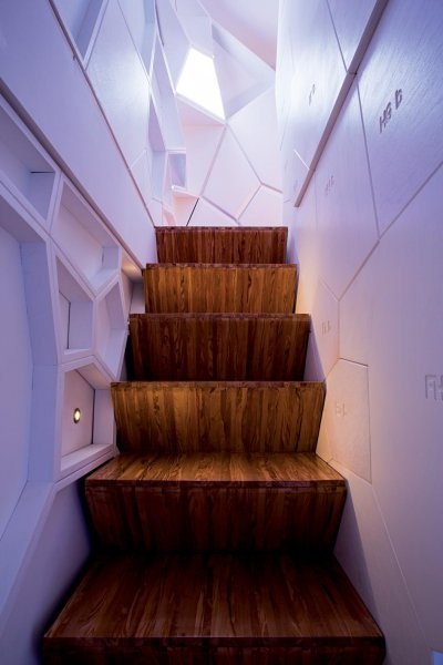 """The stairs in """"The Infection"""" in Milan."""
